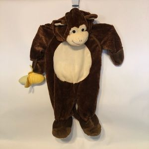 Monkey Infant Costume size 6-9 Months